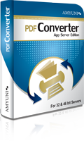 PDF Converter Application Server Edition