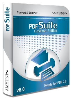 PDF Suite Desktop Edition v6.0